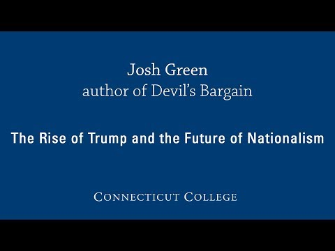 Josh Green lecture at Connecticut College