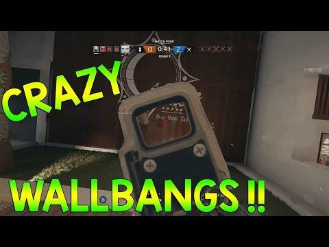 CRAZY WALLBANGS - Rainbow Six Siege