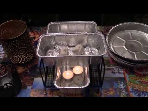 Tea Light Stove DIY for Baking Clay