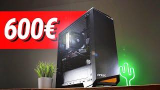 500 - 600€ Euro GAMING PC 2021!! - Test & Zusammenbauen