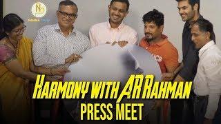 Harmony with AR Rahman  | Press Meet | Namma Trend