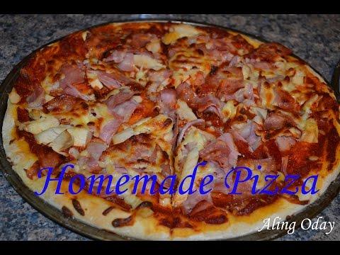 Homemade Pizza (Filipino Style)