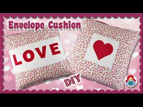 DIY | Envelope Cushion Cover in 2 designs • Sami Dolls Tutorials