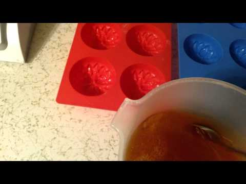#5 making transparent soap with oils-lye-alcohol