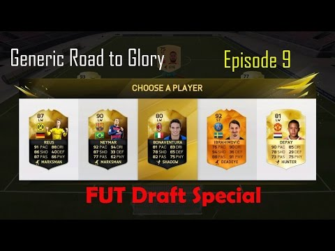 Generic road to glory ep 9 FUT draft special