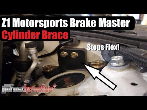 350Z Brake Master Cylinder Brace Z1 Motorsports (Infiniti G35)
