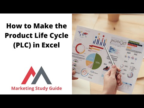 How to Make the Product Life Cycle PLC in Excel
