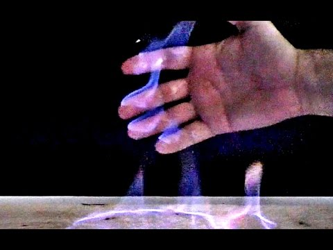 Cool Life Hack with Fire Hands. Is it possible to keep the flame without burning your hands?