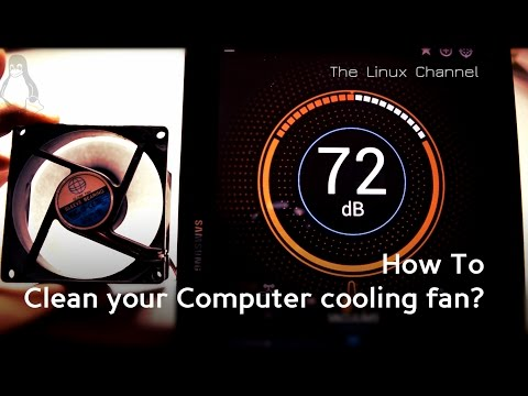 How To clean and maintain your Computer cooling fan?