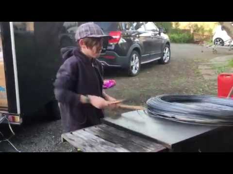 Epic Drum Solo - ON A BARBECUE?!