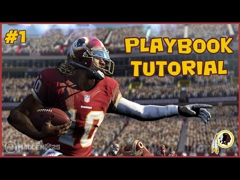 Madden 25 | Redskins Playbook Money Plays [Episode 1]