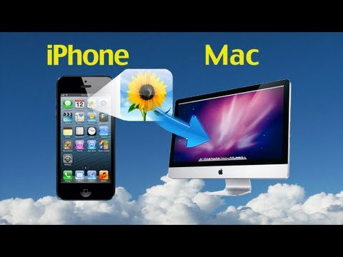 How to Transfer Photos from iPhone 5/4S/4 to Mac in batch with iPhone Photos Transfer & Manager?