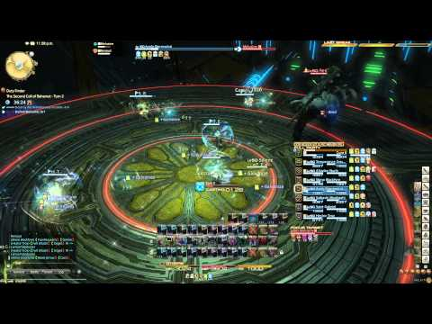 Final Fantasy XIV ARR Second coil of Bahamut Turn 2 Clear Lux Aeterna