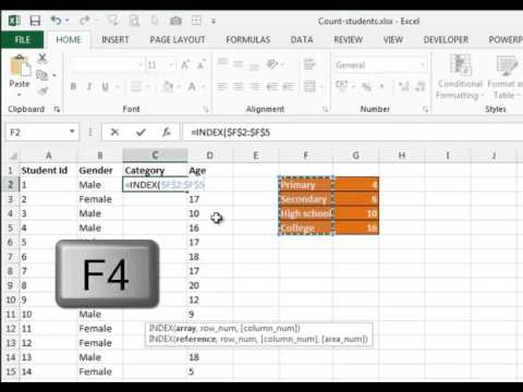 How to categorize data by age group
