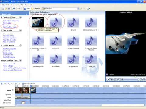 Converting Files For Windows Movie Maker (.mov - .wmv) and Uploading Them To YouTube