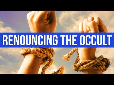 RENOUNCING THE OCCULT & CULTS & SECTS (PRAYER FOR DELIVERANCE)  ✅