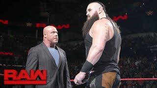 Braun Strowman is fired: Raw, Jan. 15, 2018