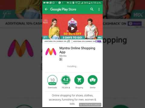 HOW TO COMPLETE MYNTRA OFFER
