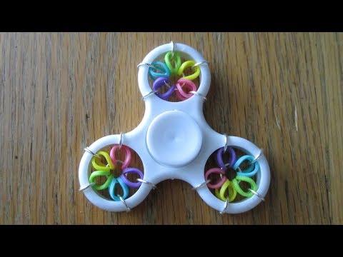 Rainbow Loom- Fidget Spinner (Original Design)