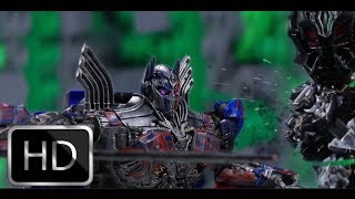 Transformers The Last Knight trailer in stop motion LEGO