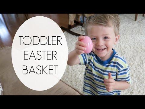 Toddler Easter Basket & Resurrection Eggs | 2016