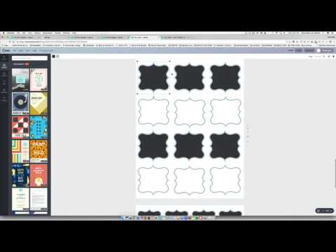 How to Create Printable Labels in Canva
