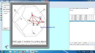 How to run quantum ESPRESSO and BoltzTraP on windows | Music