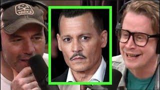Joe Rogan & Macaulay Culkin on Johnny Depp