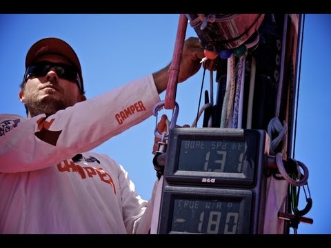 Keep Calm and Carry On Cleaning | Volvo Ocean Race 2011-12