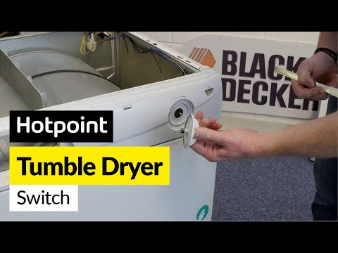 How to Fix a Tumble Dryer Start Switch (Hotpoint, Indesit or Creda)