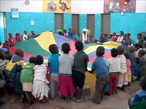 Children Following Instructions in Group Activity at Chifundo 3 CBCC
