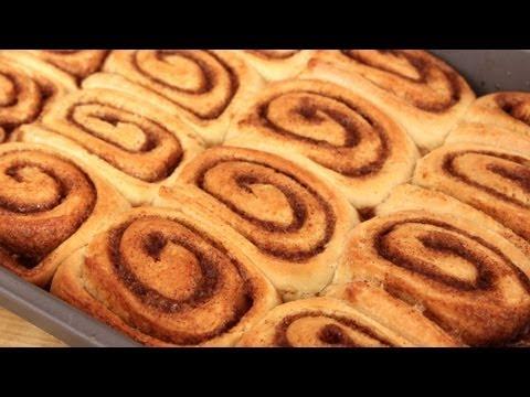 Homemade Cinnamon Rolls Recipe - Laura Vitale - Laura in the Kitchen Episode 300