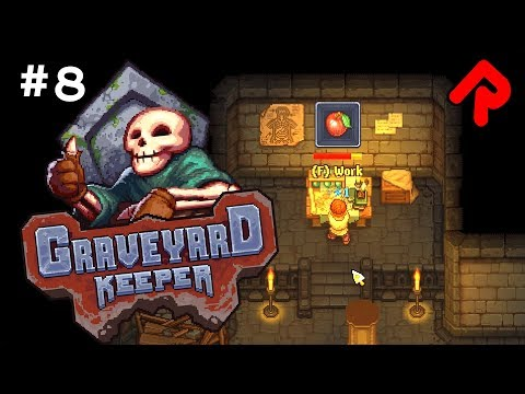 SECRET SCIENCE in the Church Basement!   Let's play GRAVEYARD KEEPER gameplay ep 8 (Alpha)