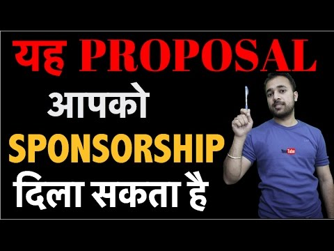 How to write a proposal for sponsorship on FAMEBIT - Increase YouTube revenue with paid sponsorships