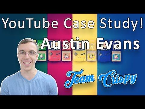 YouTube Case Study # 5 Austin Evans Edition! #TeamCrispy