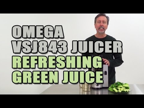 Omega VSJ843 Juicer Refreshing Green Juice Recipe