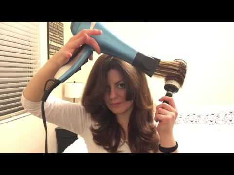 HOW TO Blow dry on medium seriously thick hair