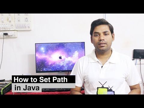 How to Set Path in Java Windows 10 (HINDI)
