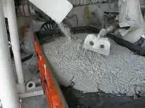 VIBCO Vibrating Table Consolidates Concrete Quickly!