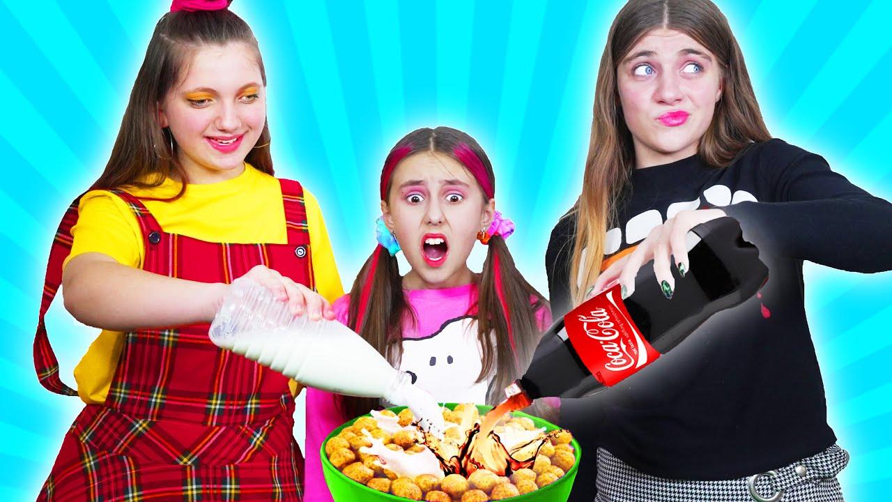 Mala niñera VS Buena niñera || Situaciones divertidas con amigos