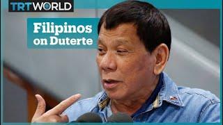 What do Filipinos have to say about their president, Rodrigo Duterte?