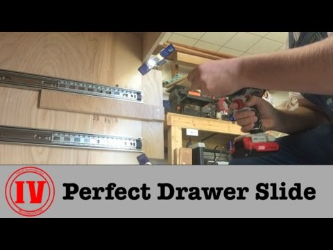 Perfect Drawer Slide // TIPS