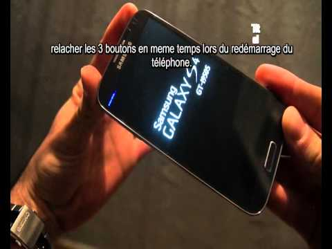 tuto : Activer recovery mode, samsung galaxy S4, S