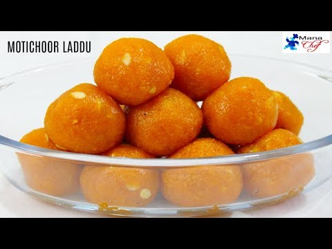 Motichoor Laddu Recipe In Telugu
