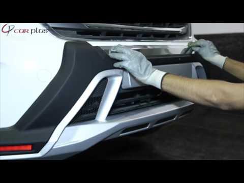 FRBG00003 KMH Front And Rear Bumper Guard Hyundai Creta (Installation Video)