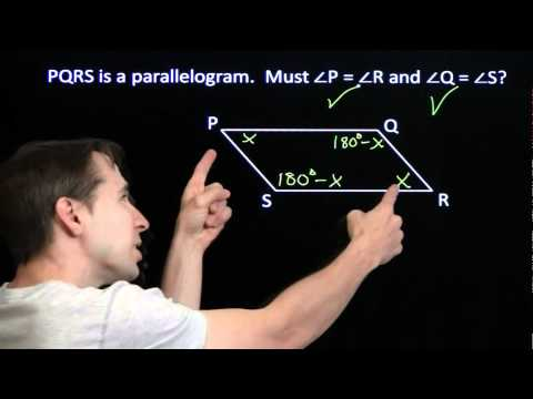 Art of Problem Solving: Angles in a Parallelogram