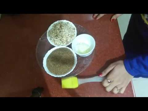 Badam Chikki Recipe | Almond Brittle Recipe | Almond Gachak Easy Yummy | Cook With Monika