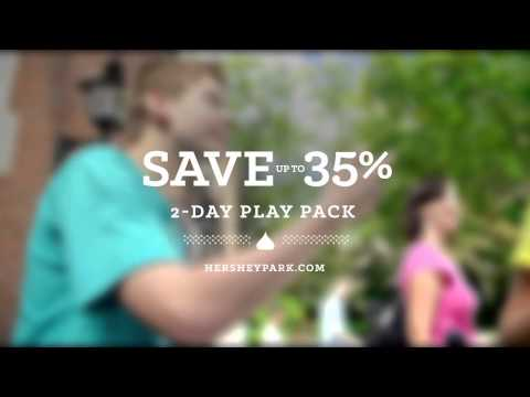 2-Day Play Pack at Hersheypark