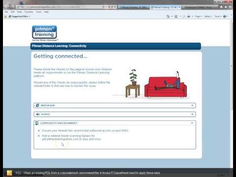 Corporate Environment - Internet Explorer