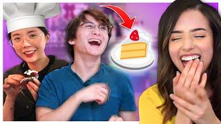 STREAMERS TRY BAKING! ft. Michael Reeves, Lilypichu, Pokimane